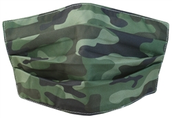 Brave Soul Camo Pattern Face Mask