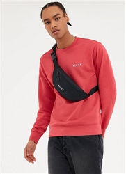 Nicce Holly Berry Loopback Chest Logo Sweat
