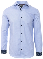 Jack & Jones Cashmere Blue Slim Fit Dobby Shirt
