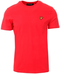 Lyle & Scott Gala Red Crew Neck T-Shirt