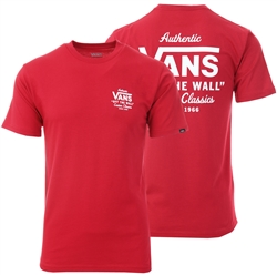 Vans Cardinal Holder St Classic T-Shirt