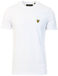 Lyle & Scott White Plain T-Shirt