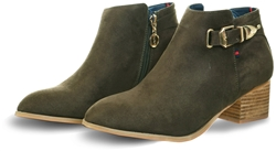 Escape Olive Nephi Two Ankle Boot