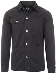 Brave Soul Black Button Up Jacket