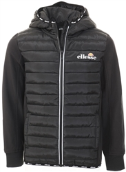 Ellesse Black Glinta Padded Jacket