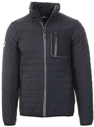 Superdry Black Convection Hybrid Non Hooded Jacket
