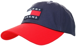 Tommy Jeans Corporate Heritage Colour-Blocked Baseball Cap