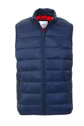 Jack & Jones Navy Blazer Puffer Gilet