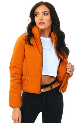 Only Pumpkin Spice / Yellow Solid Colored Jacket