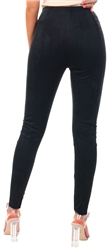 Jdy Black Faux Suede Leggings