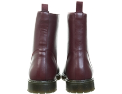 Dv8 Burgundy Lace Up Boot