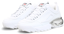 Fila White / Chrome Disruptor 2 Trainers