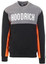 Hoodrich Black / Golden Poppy Og Block Crew Sweater