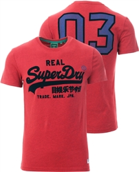 Superdry Chilli Pepper Marl Varisrty Tee