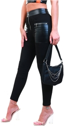 Sixth June Black Zip Leggings