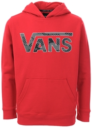 Vans Chili Pepper-Pattern Camo Junior Classic Pullover Hoodie