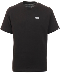 Vans Black Left Chest Logo Tee