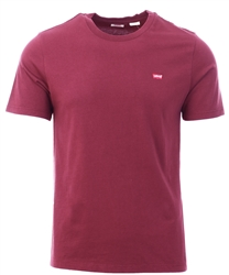Levi's® Burgundy Original Housemark Tee
