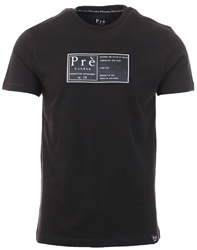 Black Arges Tee by Pre London