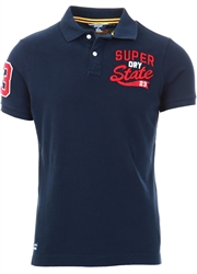 Superdry Nautical Navy Superstate Polo