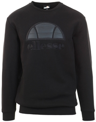 Black Manto Sweatshirt by Ellesse