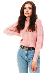 Brave Soul Rose Twist Cumbria Sweater