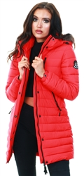 Superdry Red Super Fuji Jacket
