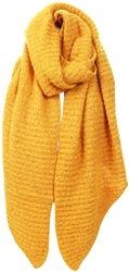 Pieces Yellow / Nugget Gold Long Scarf