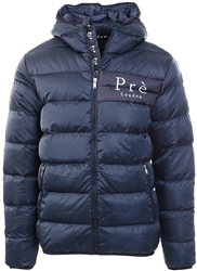 Pre London Navy Alsace Puffer Jacket