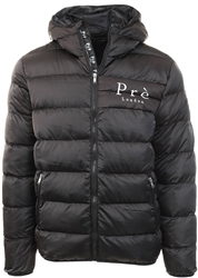 Pre London Black Alsace Puffer Jacket