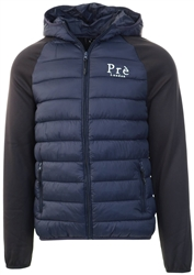 Pre London Navy/Black Hybrid Puffer Jacket