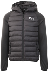 Pre London Black Hybrid Puffer Jacket