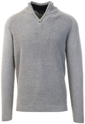 Kensington Mid Grey Marl Kinkle Knit Jumper