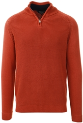 Kensington Rust Kinkle Knitted Jumper