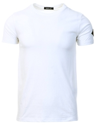 Replay White Arm Badge Tee