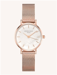 Rosefield The Small Edit White Rose Gold 26mm