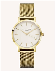 Rosefield The Tribeca White Gold 33mm