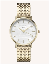 Rosefield The Upper East Side White Gold 33mm