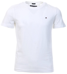 Tommy Jeans White Essential Organic Cotton T-Shirt
