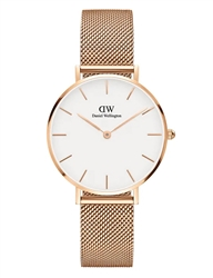 Daniel Wellington Rose Gold Petite Melrose 32mm