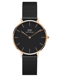 Daniel Wellington Black Petite Ashfield 32mm