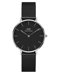 Daniel Wellington Silver Petite Ashfield 32mm