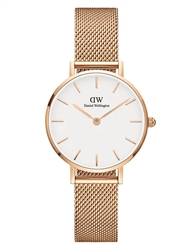 Daniel Wellington Rose Gold Petite Melrose 28mm