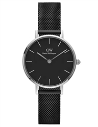 Daniel Wellington Silver Petite Ashfield 28mm
