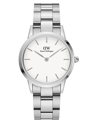 Daniel Wellington Silver White Iconic Link 32mm