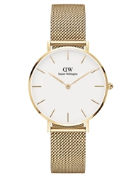 Daniel Wellington Gold White Petite Evergold 32mm