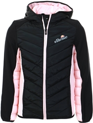 Ellesse Black Lilona Padded Jacket