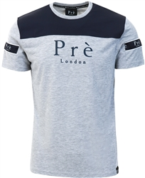 Pre London Navy / Grey Eclipse Nylon T-Shirt