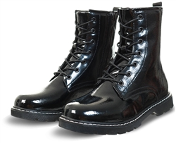 Dv8 Black Lace Up Boot