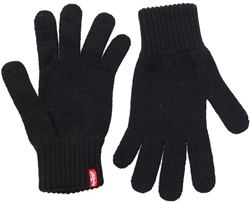 Levi's® Black / Black Red Tab Core Gloves